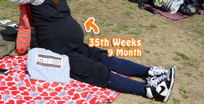 妊娠35週目、育良クリニック「産むぞクラス」に参加!