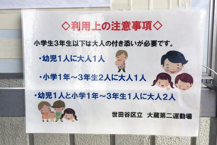 砧公園「大倉第二運動場 野外プール」レポート