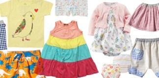 Amazonでベビー・キッズの夏物服セールが開催。