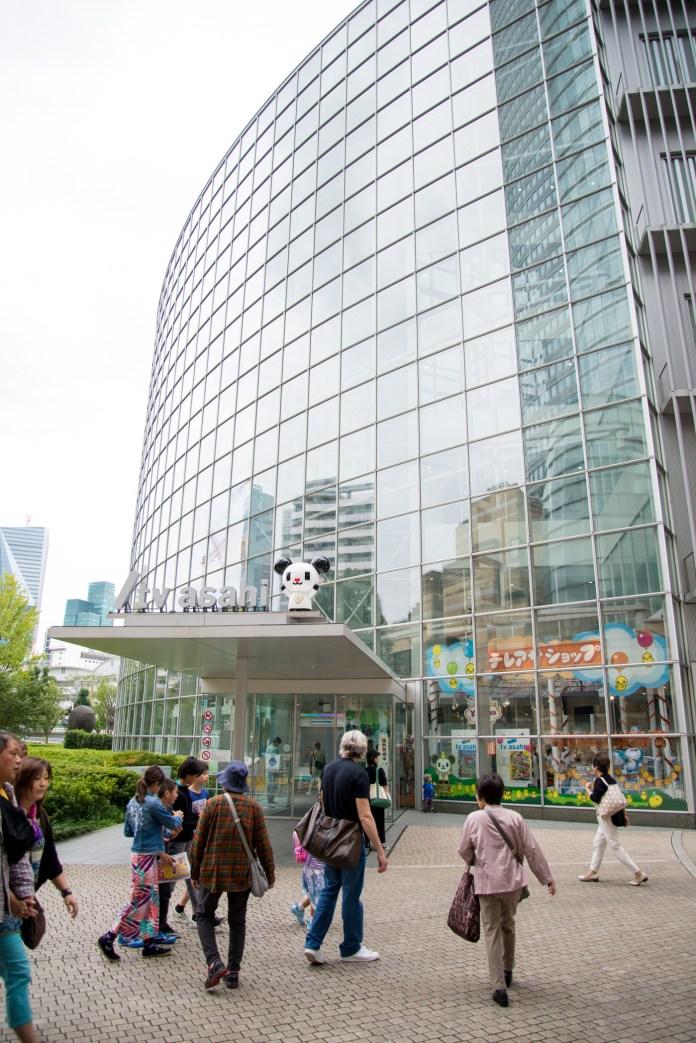 テレビ朝日ビル入口