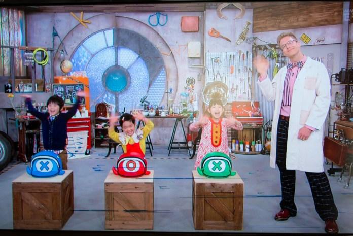 ジェイソン博士の実験室で、クイズタイム