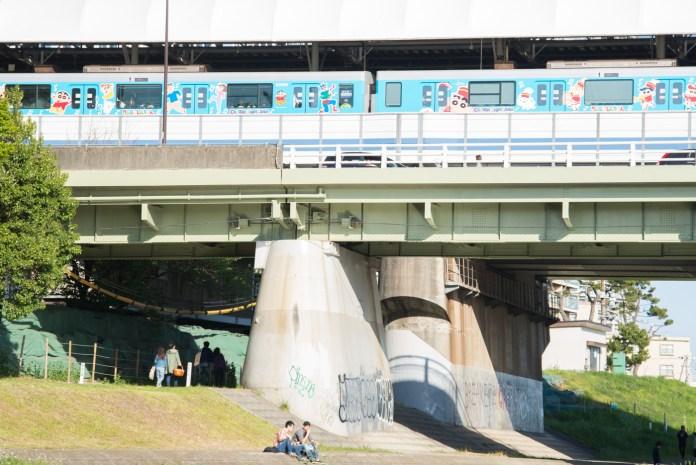 クレヨンしんちゃんの電車