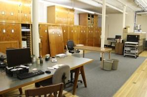 Reorganized basement work room