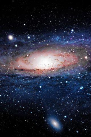 Papel de Parede para Celular Universo 320x480