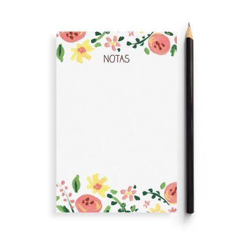 Bloc de notas floral de Charuca