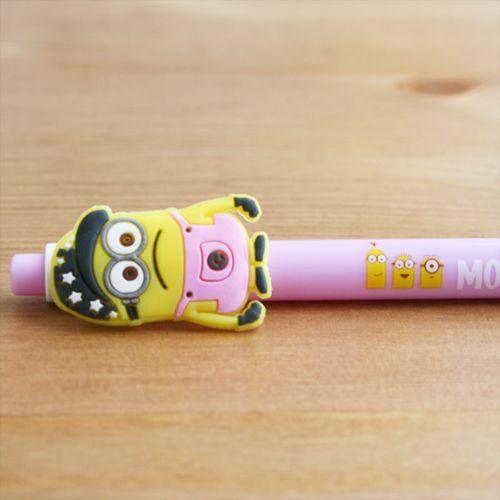 Bolígrafo Minion lila