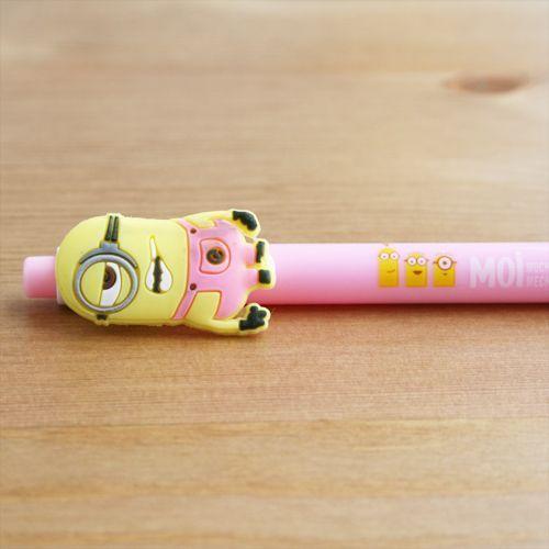 Bolígrafo Minion rosa claro