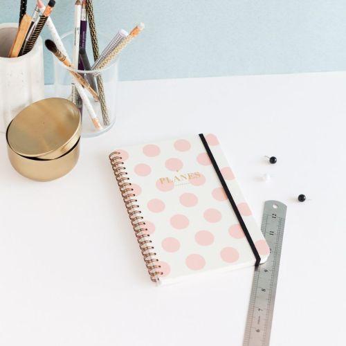 Planificador diario topos pink