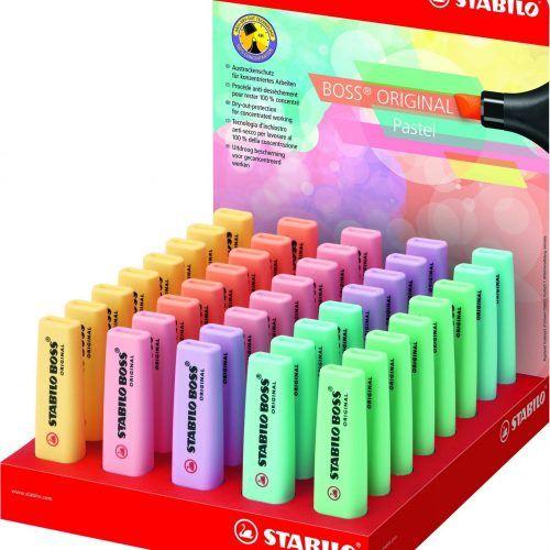 Rotuladores Stabilo pastel