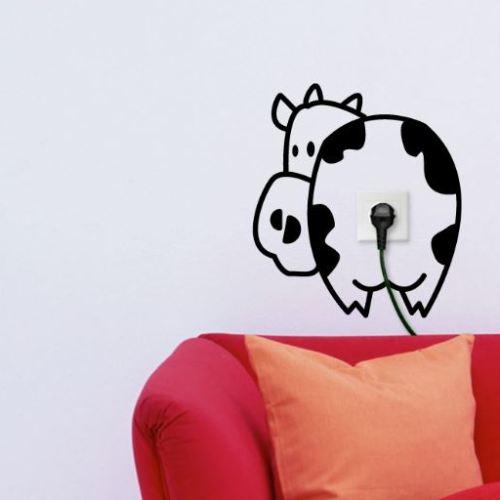 Vinilo decorativo vaca