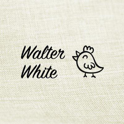 Sello textil pollito