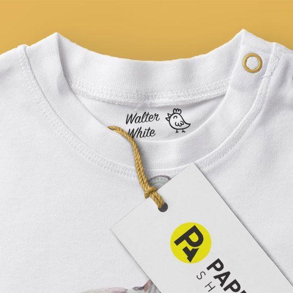 Sello textil walter-white-detalle