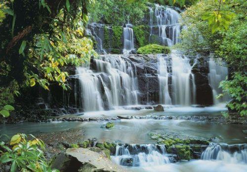8 256 Pura Kaunui Falls - FOTOMURAL KOMAR  PURA KANUI FALLS RF. 8-256