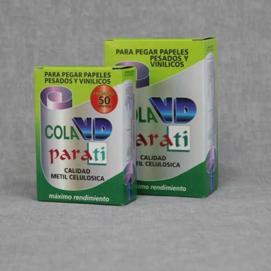 herramientas 490 - Cola Papel vinílico y tejido no tejido 100 gr.