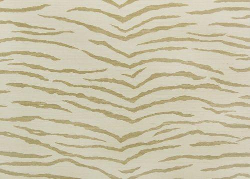 jua225 - Revestimiento mural de sisal natural estampado tigre de la colección Jungle Ref. JUA224