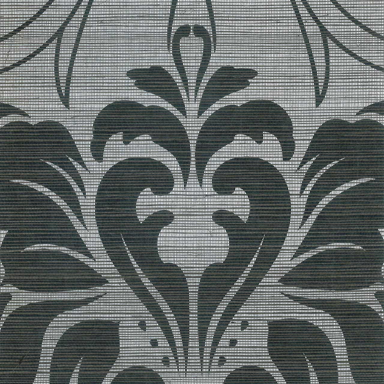 Revestimiento mural Damasco negro de la colección J&V 450 Ref. 4702