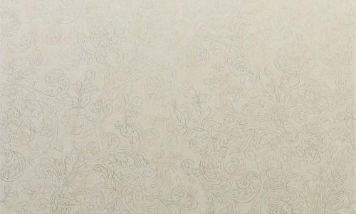 pal3019GR - Revestimiento mural de flores plata de la colección Palazzo Ref. PAL3019