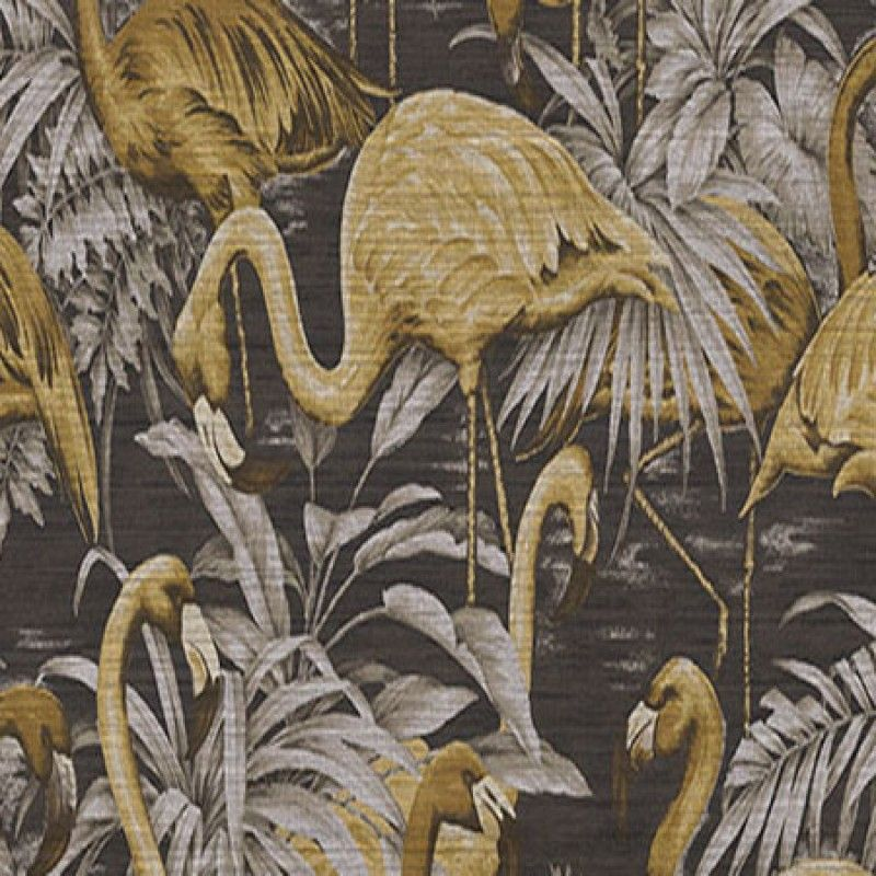 Papel pintado flamingo del cat logo avalon de arte disponible en 3 colores papel deco - Catalogos de papel pintado para paredes ...