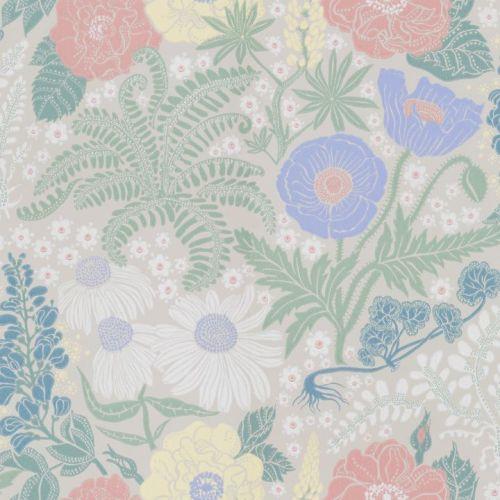 Papel pintado de flores Lisa 416-31 de Sandberg
