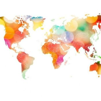 MURAL REBEL WALLS YOUR OWN WORLD CONFETTI
