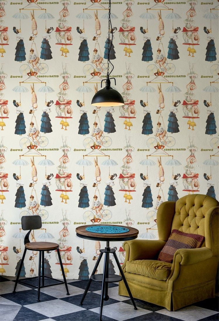 Papel pintado Mind the gap WP20002 - The Great Show ambiente