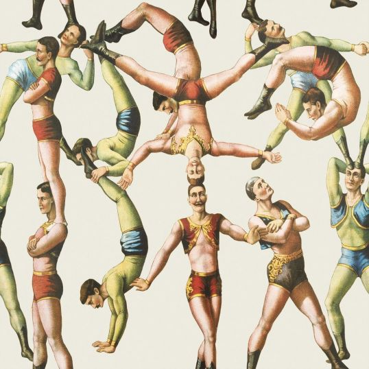 Mind the gap WP20005 - The Acrobats
