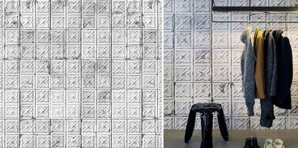 Se puede poner papel pintado sobre paredes con gotel papel deco - Papel pintado sobre azulejos ...