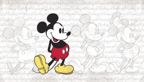 Mural classic Mickey JL1404M