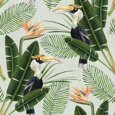 birds 1024x1024 - Papel pintado en el baño: Consejos infalibles para su colocación