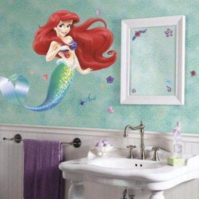 Sticker La Sirenita - Catálogo Disney Kids