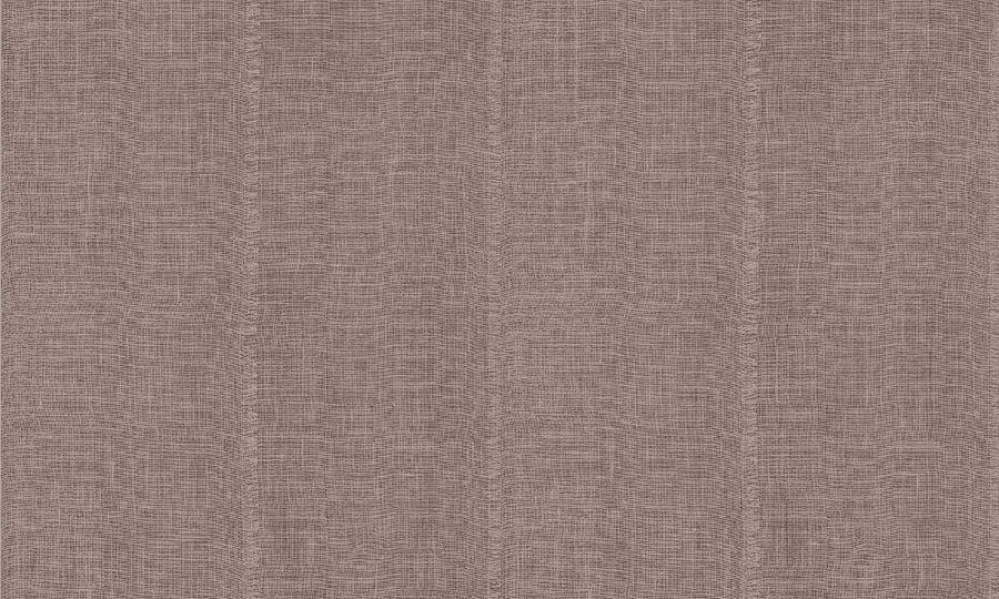 Papel pintado de yute gris sobre rojo del catálogo Insero