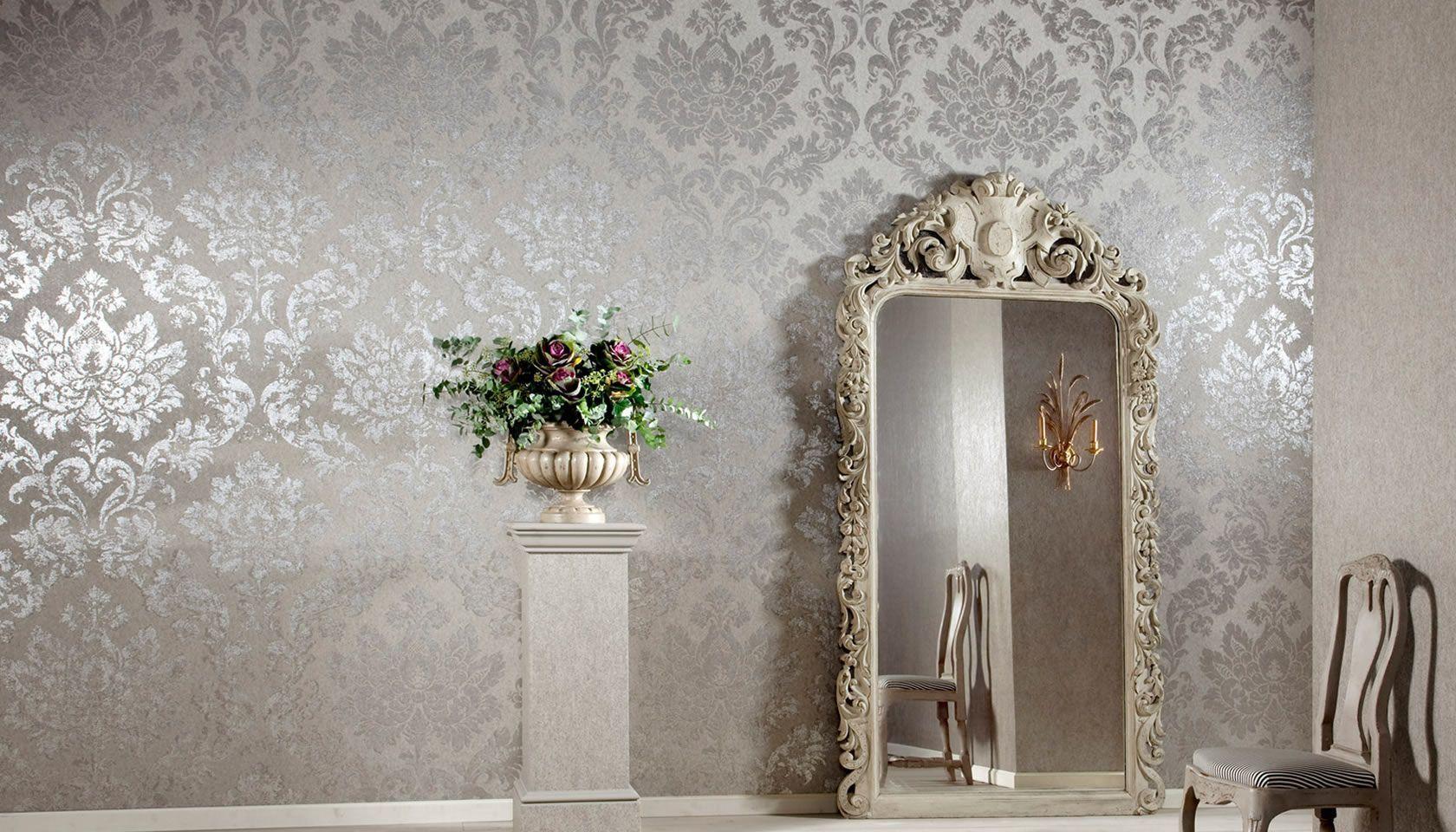 papeles pared metalizados - Papeles de pared metalizados; mucho más que una tendencia en interiorismo para 2018