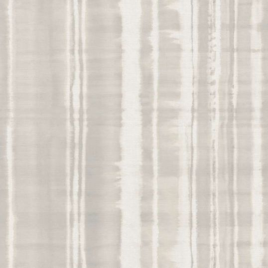 Papel pintado para parde de rayas desiguales en beige