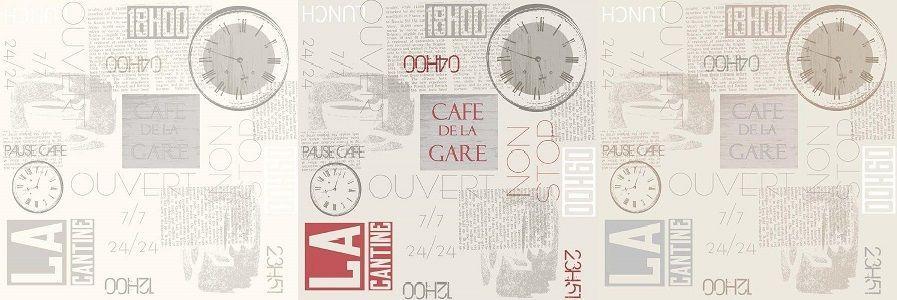 Papel Pintado Café de la Gare - Catálogo Journey