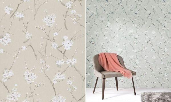 Papel pintado Leela Snow - Catálogo Kwaï de Zoom