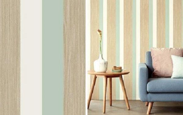 6 papel pintado a rayas para pasillos verticales u horizontales - Papel Pintado Rayas Horizontales