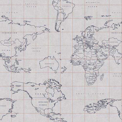 CASELIO 69473328 - PAPEL PINTADO MAP WORLD TONI69473328 DEL CATÁLOGO TONIC DE CASELIO