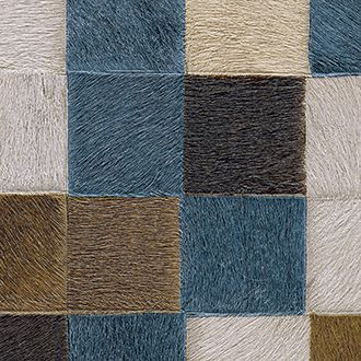 Papel para paredes imitacion piel en azul