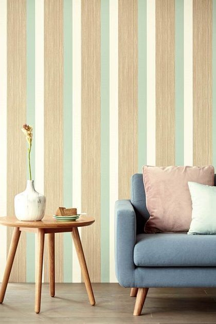 Papel pintado a rayas: múltiples opciones para dar color a tus paredes