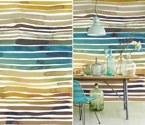 Mural Aquastripe - Catálogo Eijffinger