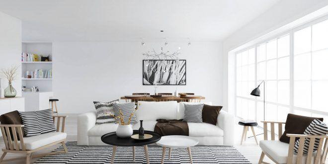 estilo nordico - Tips básicos para decorar con papel pintado estilo nórdico