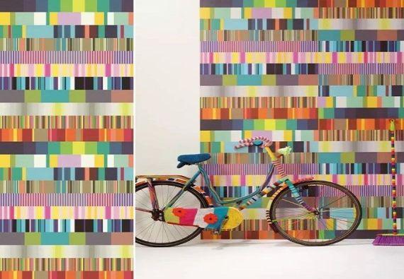 Mural UltiMulti - Catálogo Stripes+ de Eijffinger