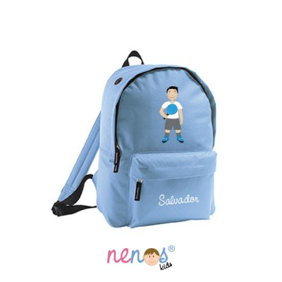 Mochila escolar personalizada Pádel