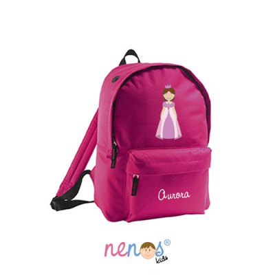 Mochila escolar personalizada Princesa