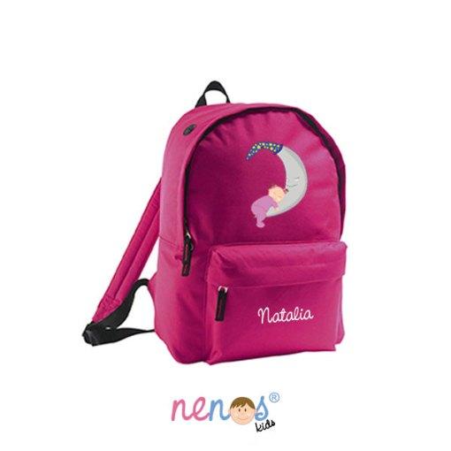 Mochila escolar personalizada Bebé Luna Niña