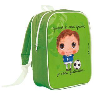 mochila escolar cuando sea mayor, seré futbolista