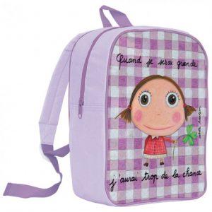 mochila escolar para niña cuando sea mayore, tendré mucha suerte