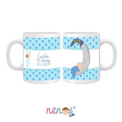 Tazas Personalizadas BebéLuna Niña