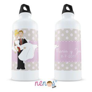 Botella Termo Personalizada Novios