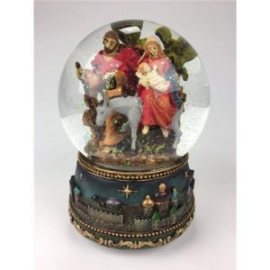 Bola de Navidad Belén Noche de Paz